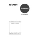 Sharp MX-2300N, MX-2700N, MX-2300G, MX-2700G, MX-2300FG, MX-2700FG (serv.man25) User Guide / Operation Manual