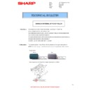 Sharp MX-2300N, MX-2700N, MX-2300G, MX-2700G, MX-2300FG, MX-2700FG (serv.man49) Technical Bulletin
