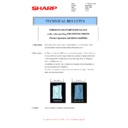 Sharp MX-2600N, MX-3100N, MX-2600G, MX-3100G (serv.man22) Technical Bulletin
