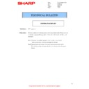 Sharp MX-2600N, MX-3100N, MX-2600G, MX-3100G (serv.man23) Technical Bulletin