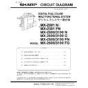 Sharp MX-2600N, MX-3100N, MX-2600G, MX-3100G (serv.man6) Service Manual