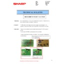 Sharp MX-2610N, MX-3110N, MX-3610N (serv.man100) Technical Bulletin