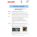 Sharp MX-2610N, MX-3110N, MX-3610N (serv.man105) Technical Bulletin