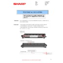 Sharp MX-2610N, MX-3110N, MX-3610N (serv.man108) Technical Bulletin