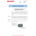 Sharp MX-2610N, MX-3110N, MX-3610N (serv.man112) Technical Bulletin