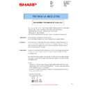 Sharp MX-2610N, MX-3110N, MX-3610N (serv.man113) Technical Bulletin