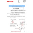 Sharp MX-2610N, MX-3110N, MX-3610N (serv.man116) Technical Bulletin