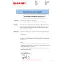 Sharp MX-2610N, MX-3110N, MX-3610N (serv.man119) Technical Bulletin