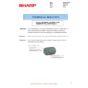 Sharp MX-2610N, MX-3110N, MX-3610N (serv.man120) Technical Bulletin