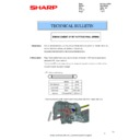 Sharp MX-2610N, MX-3110N, MX-3610N (serv.man121) Technical Bulletin
