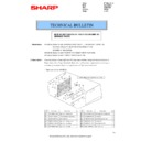 Sharp MX-2610N, MX-3110N, MX-3610N (serv.man123) Technical Bulletin