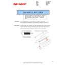 Sharp MX-2610N, MX-3110N, MX-3610N (serv.man124) Technical Bulletin