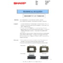 Sharp MX-2610N, MX-3110N, MX-3610N (serv.man125) Technical Bulletin