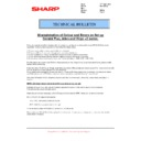 Sharp MX-2610N, MX-3110N, MX-3610N (serv.man126) Technical Bulletin
