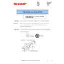 Sharp MX-2610N, MX-3110N, MX-3610N (serv.man127) Technical Bulletin