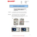 Sharp MX-2610N, MX-3110N, MX-3610N (serv.man131) Technical Bulletin