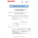Sharp MX-2610N, MX-3110N, MX-3610N (serv.man132) Technical Bulletin