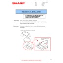 Sharp MX-2610N, MX-3110N, MX-3610N (serv.man136) Technical Bulletin