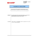 Sharp MX-2610N, MX-3110N, MX-3610N (serv.man148) Technical Bulletin