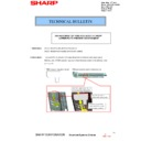 Sharp MX-2610N, MX-3110N, MX-3610N (serv.man150) Technical Bulletin