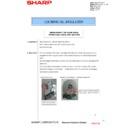 Sharp MX-2610N, MX-3110N, MX-3610N (serv.man156) Technical Bulletin