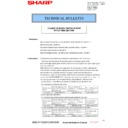Sharp MX-2610N, MX-3110N, MX-3610N (serv.man161) Technical Bulletin