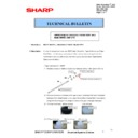 Sharp MX-2610N, MX-3110N, MX-3610N (serv.man163) Technical Bulletin