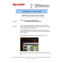 Sharp MX-2610N, MX-3110N, MX-3610N (serv.man164) Technical Bulletin