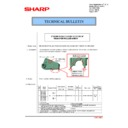 Sharp MX-2610N, MX-3110N, MX-3610N (serv.man167) Technical Bulletin