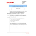 Sharp MX-2610N, MX-3110N, MX-3610N (serv.man168) Technical Bulletin