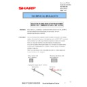 Sharp MX-2610N, MX-3110N, MX-3610N (serv.man174) Technical Bulletin