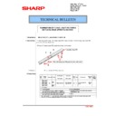 Sharp MX-2610N, MX-3110N, MX-3610N (serv.man177) Technical Bulletin