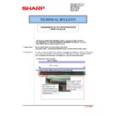 Sharp MX-2610N, MX-3110N, MX-3610N (serv.man183) Technical Bulletin