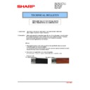 Sharp MX-2610N, MX-3110N, MX-3610N (serv.man184) Technical Bulletin