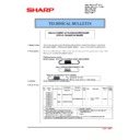 Sharp MX-2610N, MX-3110N, MX-3610N (serv.man185) Technical Bulletin