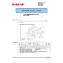 Sharp MX-2610N, MX-3110N, MX-3610N (serv.man186) Technical Bulletin
