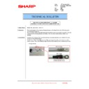Sharp MX-2610N, MX-3110N, MX-3610N (serv.man188) Technical Bulletin