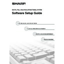 Sharp MX-2610N, MX-3110N, MX-3610N (serv.man19) User Guide / Operation Manual