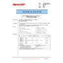 Sharp MX-2610N, MX-3110N, MX-3610N (serv.man190) Technical Bulletin