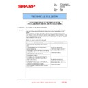 Sharp MX-2610N, MX-3110N, MX-3610N (serv.man191) Technical Bulletin