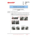 Sharp MX-2610N, MX-3110N, MX-3610N (serv.man192) Technical Bulletin