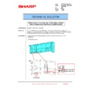 Sharp MX-2610N, MX-3110N, MX-3610N (serv.man194) Technical Bulletin