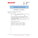 Sharp MX-2610N, MX-3110N, MX-3610N (serv.man195) Technical Bulletin