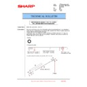 Sharp MX-2610N, MX-3110N, MX-3610N (serv.man196) Technical Bulletin