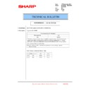 Sharp MX-2610N, MX-3110N, MX-3610N (serv.man197) Technical Bulletin