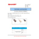 Sharp MX-2610N, MX-3110N, MX-3610N (serv.man198) Technical Bulletin