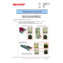 Sharp MX-2610N, MX-3110N, MX-3610N (serv.man199) Technical Bulletin