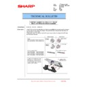 Sharp MX-2610N, MX-3110N, MX-3610N (serv.man200) Technical Bulletin