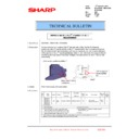 Sharp MX-2610N, MX-3110N, MX-3610N (serv.man201) Technical Bulletin