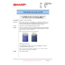Sharp MX-2610N, MX-3110N, MX-3610N (serv.man202) Technical Bulletin